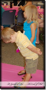 Fancy Nancy Party ~ Learning to bow {A Sprinkle of This . . . . A Dash of That}