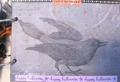 Halloween album 8.2012..black bird page