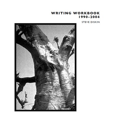 Writing Workbook 1990-2004 by Steve Diskin, cover