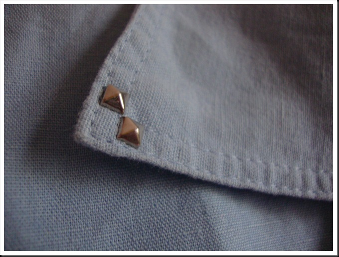 DIY collar with studs