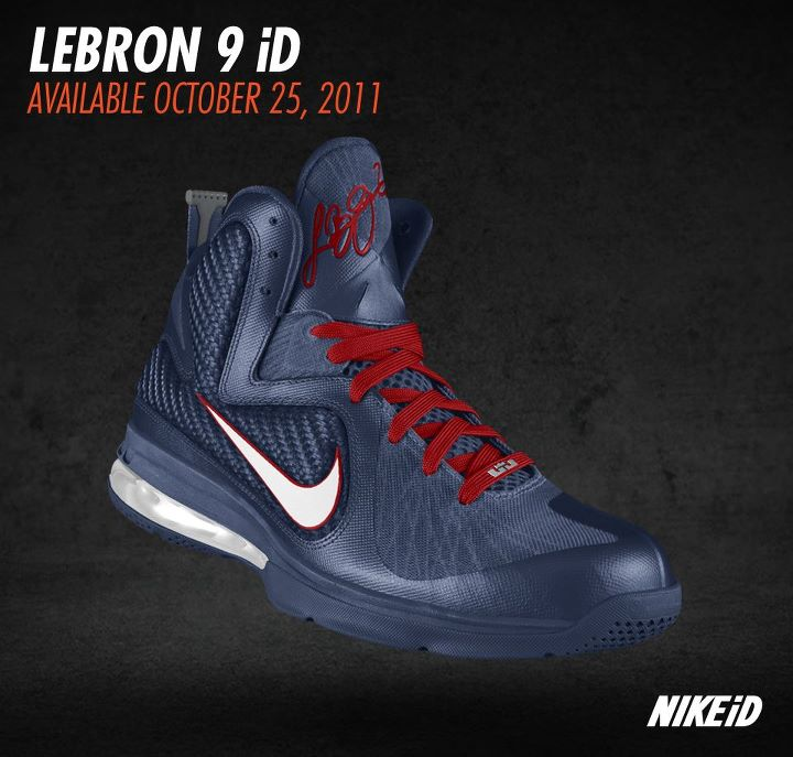 Nike Lebron 9 Id Preview Vol You Won8217t Be Able To Make Your Own South Beach