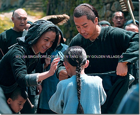 Tang Wei Wu Xia Donnie Yen Singapore Golden Village