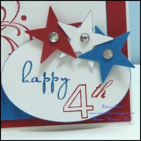 July4th, holiday, sharon field, created by you, challenge, celebrate, independence day, wedding sweet, on your birthday, Created By You