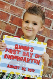 Quinn's First Day of Kindergarten 064