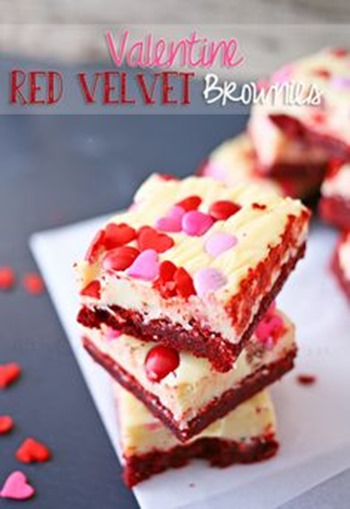 Red Velvet Brownies by Kleinworth and Co