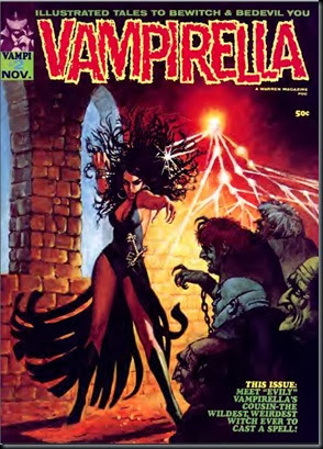 Vampirella issue 02 November 1969