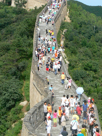 Beijing city: The great Wall