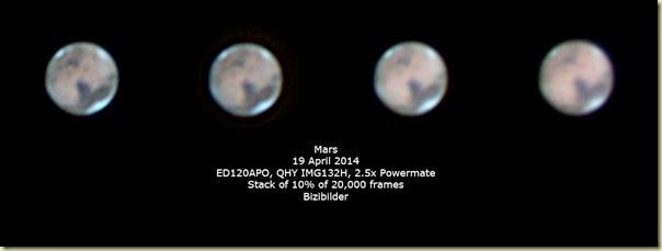 19 April 2014 Mars