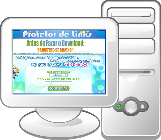Computador-Site-Download-Protetor-de-Links