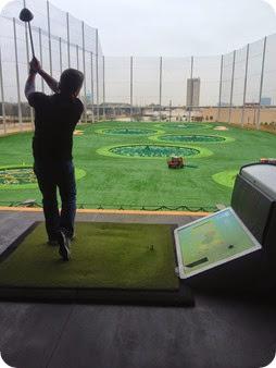 dave golfing