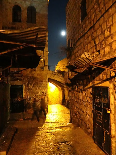 Luna plina la Ierusalim