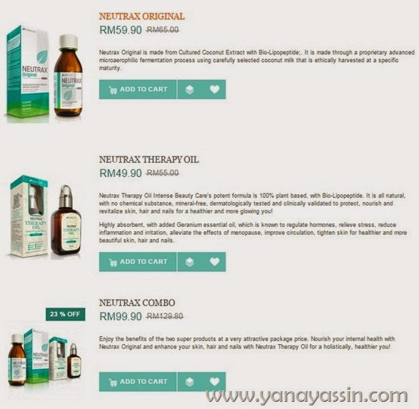 Neutrax Online Shop