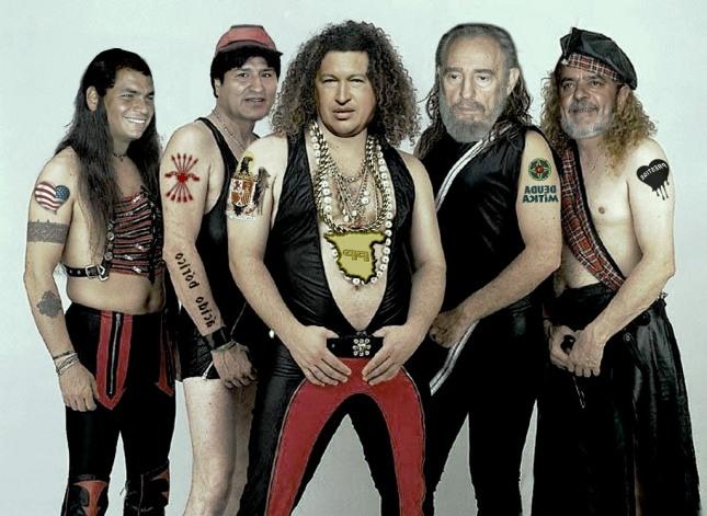 La banda de Hugo Chavez