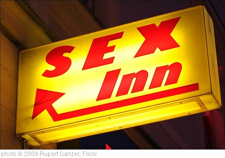 'sex inn' photo (c) 2009, Rupert Ganzer - license: http://creativecommons.org/licenses/by-nd/2.0/