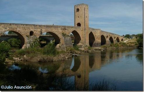 Puente de Frias - Vista desde el área recreativa