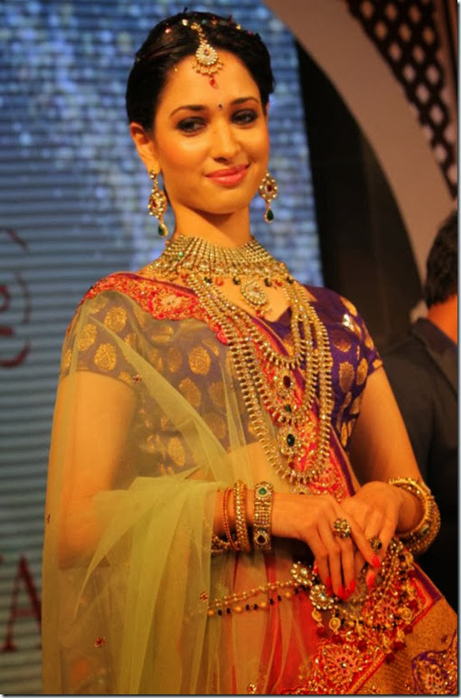 Tamanna @ Joh Rivaaj Fashion Show Photos