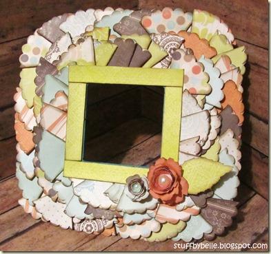 Folded Circle Frame