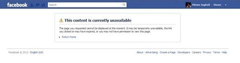 Cómo saber quien me bloqueó del Facebook