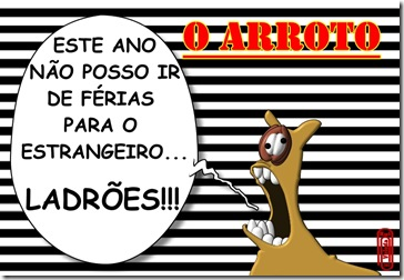 O ARROTO -FÉRIAS
