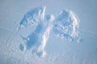 Suzie's snow angel