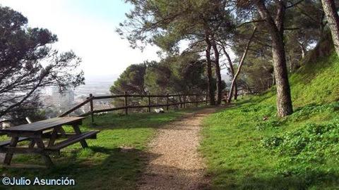 Parque del castillo de Santa Lucía - Tafalla