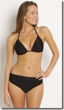 Moontide black bikini