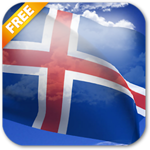 3D Iceland Flag Live Wallpaper For PC (Windows & MAC)