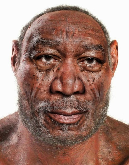 Neanderthal  Morgan Freeman