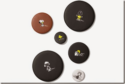Peanuts X Coach pins