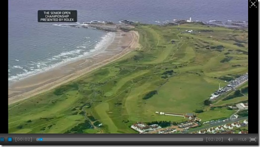 2012 Senior Open Championship Final Round Highlights