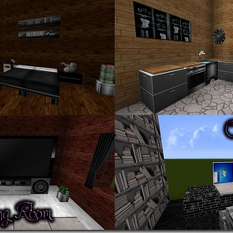 Minecraft 1.4.7 – Smooth Realistic – A Modern HD Texture pack 128x
