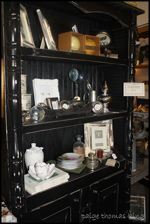 black cupboard