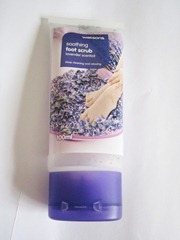 watsons soothing foot scrub, bitsandtreats
