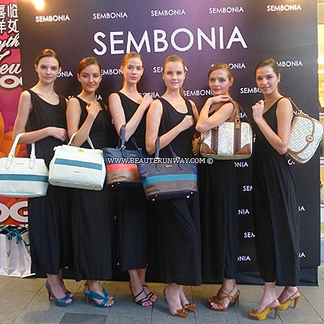 SEMBONIA FALL WINTER 2012 SPRING SUMMER 2013 HANDBAGS TOTE SHOULDER BAG LEATHER SATCHELS SLING BOSTON SPEEDY DUFFLE BAGS WALLET ACCESSORIES SHOES STILETTOS MINI COUNTRY MAN CAR Singapore, Malaysia, Indonesia, vietnam.