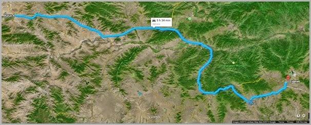 Morun to Erdenet