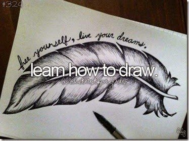 Bucket List - Learn How to Draw
