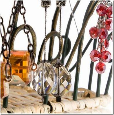 aunties beads chain earrings