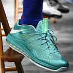 nike lebron 10 low pe green white 1 01 LEBRON X LOW, KOBE 8 and KD V   Nike Easter Collection