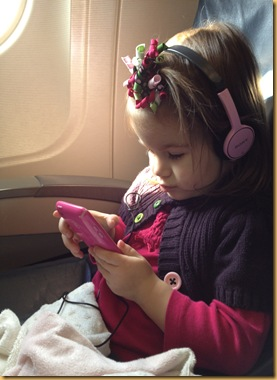 Sof on plane to Colorado