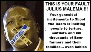 ATTACKS AGAINST FARMERS ARE YOUR FAULT MALEMA LOGo