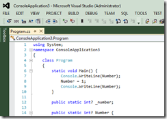GreenThemeVisualStudio2012