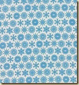 Folk Art Holiday Blue