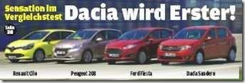 Test Autobild Dacia Sandero 03