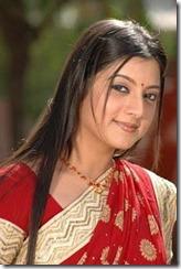 keerthi-chawla in saree