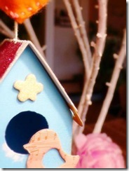 Decoro per l'albero - Bird House Ornament