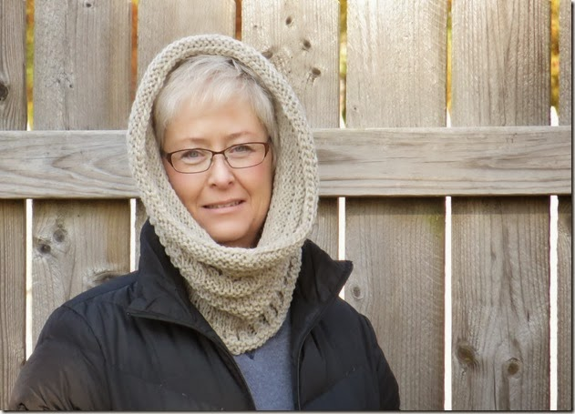 Knit Cowl Hood Pattern Free : Knitting Dragonflies: Hills and Valleys Cowl/Hood (free ...