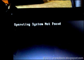 Operating System not found !