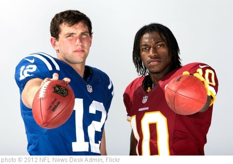 'andrew-luck-robert-griffin-rookie-of-the-year' photo (c) 2012, NFL News Desk Admin - license: http://creativecommons.org/licenses/by-nd/2.0/