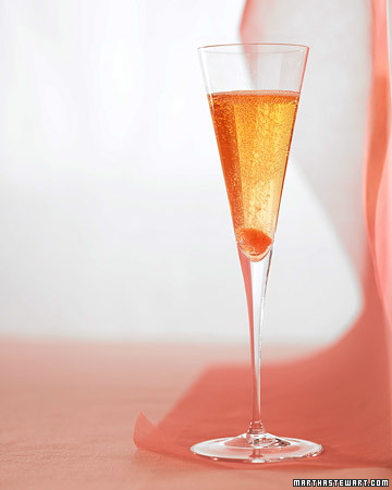 My favorite: Champagne with a twist