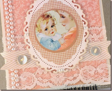 love and bling baby card2